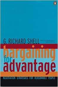 richard shell bargaining for advantage pdf