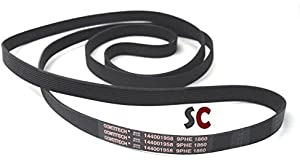 GENUINE CONTITECH 144002356 6PHE 1860 TUMBLE DRYER DRIVE BELT C00145707