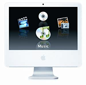 "Apple iMac G5 Desktop with 20"" MA064LL/A (2.1 GHz PowerPC G5, 512 MB RAM, 250 GB Hard Drive, SuperDrive) (Discontinued by Manufacturer)"