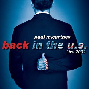 amazon back in the us live 2002 paul mccartney 輸入盤 音楽