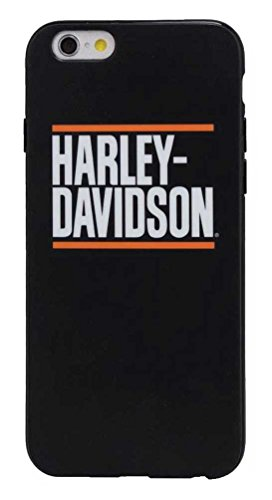 Harley-Davidson Men's H-D Block Script iPhone 7 Phone Shell, Black 7820