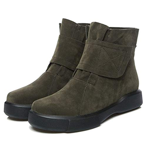 Green Ankle Sport Women Casual Sjjh Boots xIXqqz