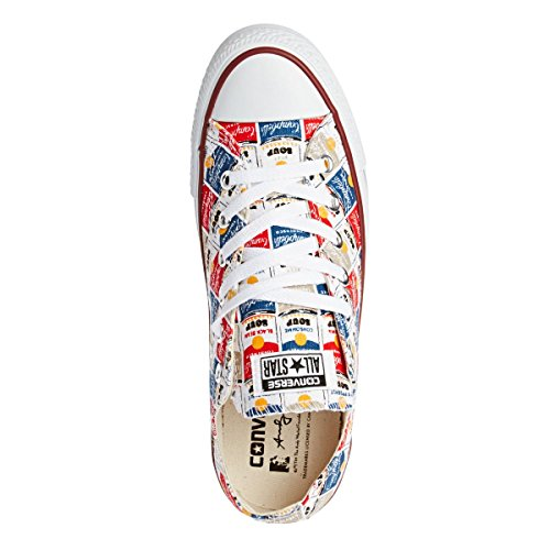 Converse Chuck Taylor All Star Warhol Shoes - White/casino/vision Blue