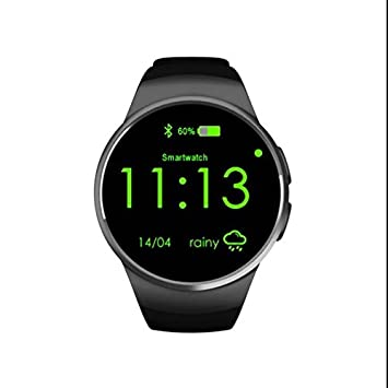 Smartwatch Bluetooth Reloj Deportivo reloj inteligente metálico, Ritmo Cardiaco rastreador, llamada manos libres Function
