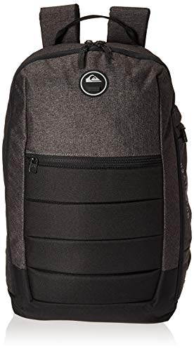 (Quiksilver Men's Upshot Plus Backpack, Black Heather/Black, 1SZ)