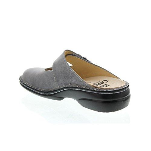 Finn Comfort - Zuecos de Piel para mujer gris gris