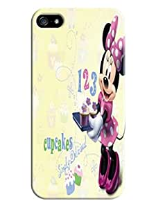 Unique and fashion design tpu phone cover/case/shell with texture for your iphone5(Minnie Mouse) by Shari Flanders