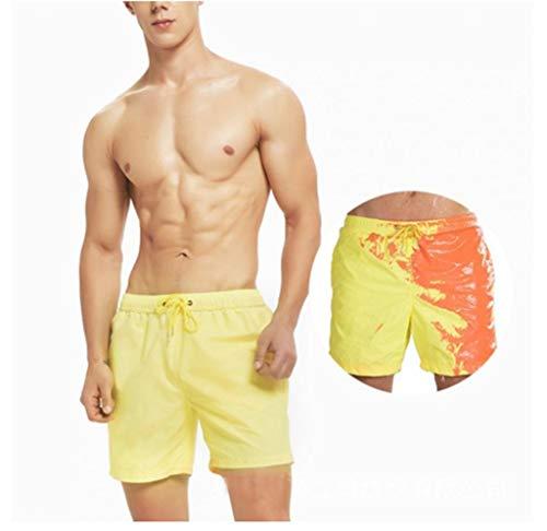 Fullwei Mens Swimwear, Magical Colour Changing Swim Trunks Quick Dry Beach Board Shorts Swimming Pants Swimsuits ()