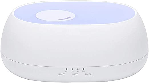 エッセンシャルオイルディフューザーアロマディフューザー加湿器500ml水なし自動シャットオフ付きオフィス、スパ、ベッドルーム