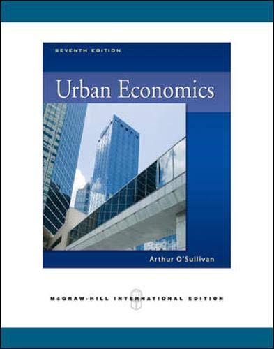 Urban Economics, 7th Edition