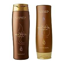 Lanza Keratin Healing Oil Shampoo 10.1 & Conditioner 8.5 oz Duo Set