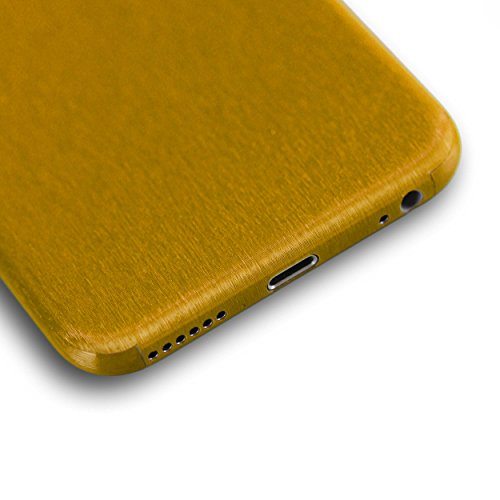 AppSkins Folien-Set iPhone 6 Full Cover - Metal pure gold