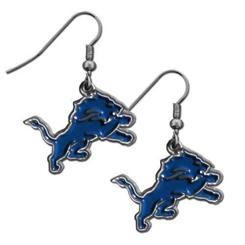 NFL Detroit Lions Dangle Earrings -