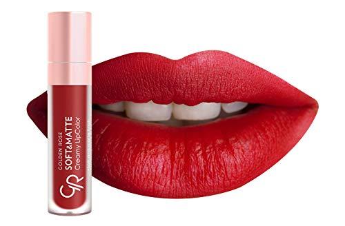 Golden Rose Soft and Creamy Matte Liquid Lipstick - 114 Brick -
