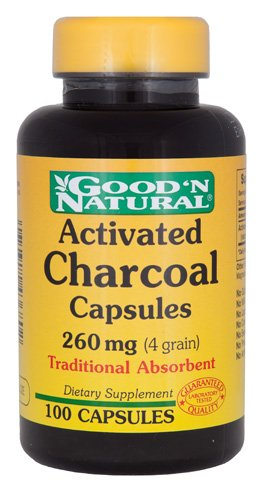 Charcoal 260 mg Capsules - Activated