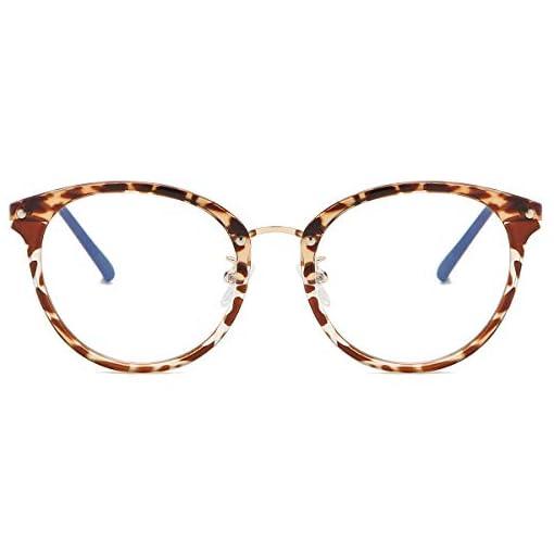 SOJOS Hexagonal Polygon Blue Light Blocking Glasses TR90 Computer Eyeglasses Demons SJ5078