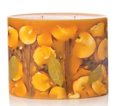 SPICY APPLE Rosy Rings 2-Wick Large Oval 300 Hour Limited Edition Botanical Scented Candle
