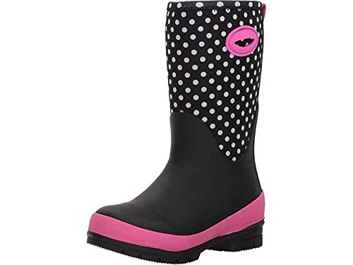 Western Chief Kids Cold Rated Neoprene Boot with Memory Foam Snow, Chloe Dot, 1 M US Little Kid