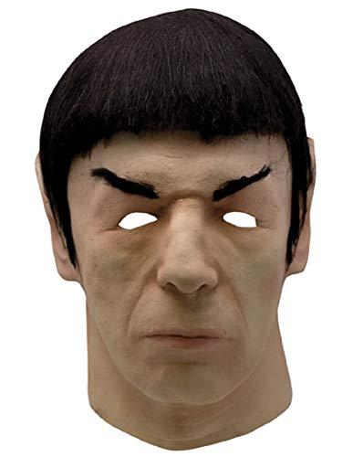 Trick Or Treat Studios Star Trek 1975 Spock Adult Latex Halloween Mask -