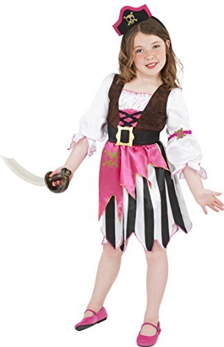 NEW Boys Pirate Fancy Dress Up Costume Age 5-6 Years