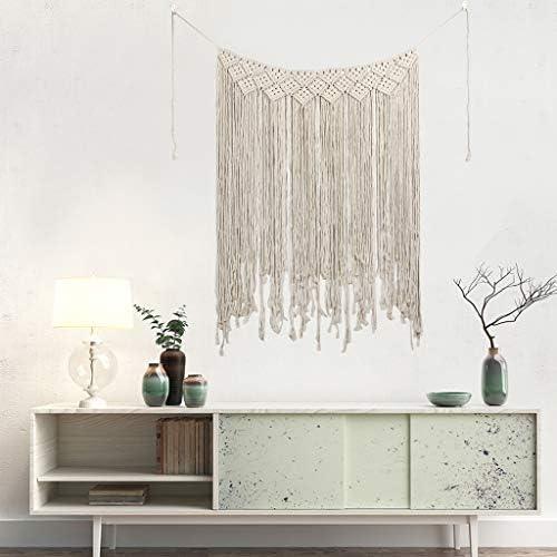 OldPAPA Macrame Wall Hanging Tapestry – Boho Wedding Hanger Cotton Handmade Wall Art Home Decor Bohemian Ethnic Art Decor Wall Decor 115x135cm