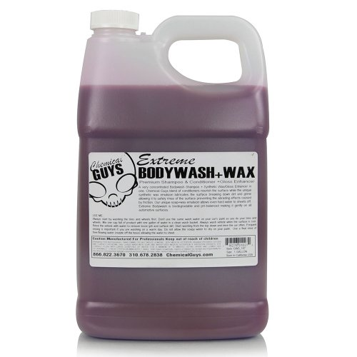 Chemical Guys CWS_107 Extreme BodyWash, Synthetic Wax and Gloss Enhancer – 1 Gallon
