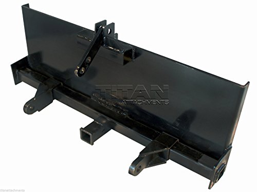 Skidsteer 3 Point Attachment Adapter Skid Steer trailer hitch front