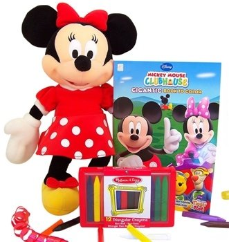 Disney Minnie Mouse Coloring Books Gift Set Big Sister