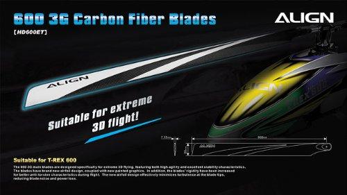 ALIGN HD600E 600 Carbon Fiber (Align 600 Carbon)