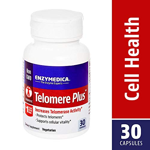 Enzymedica - Telomere Plus, Increases Telomerase Activity, 30 Capsules