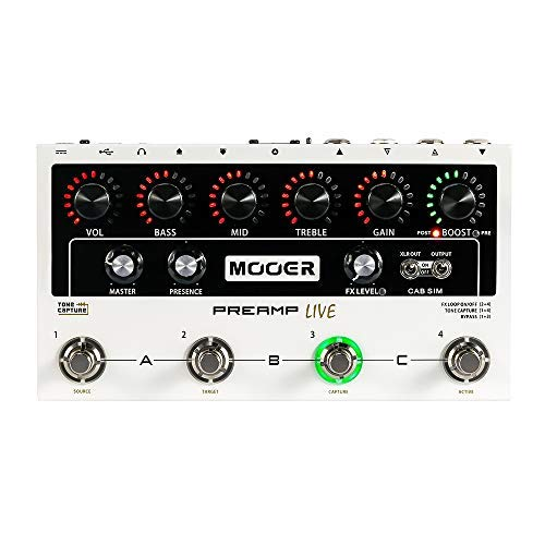 Preamp Audio Buddy - MOOER PreAMP Live