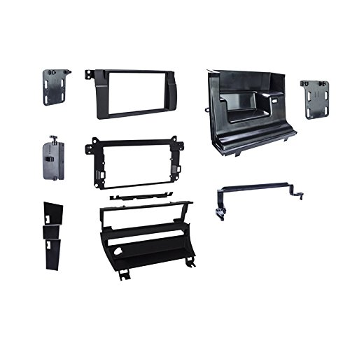 Metra 95-9313B Double DIN Dash Kit For 1999-2006 BMW 3-Series - 1 Switch