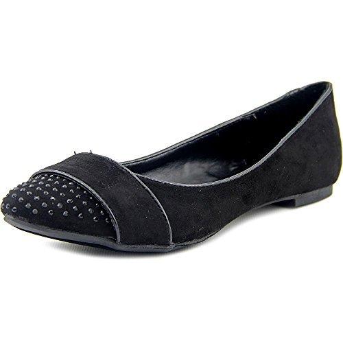 Women's Report, Bodhi Pointed Toe Flats BLACK 6.5 M (Report Womens Slip)