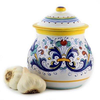 RICCO DERUTA: Garlic Onion Jar Keeper (Large) by RICCO DERUTA