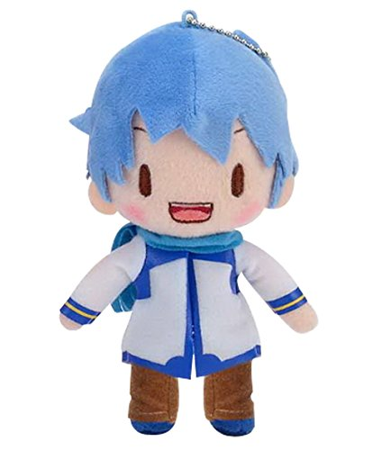 Sega 115-1014865B Hatsune Miku Vocaloid Ballchain Standing Kaito Plush, 5