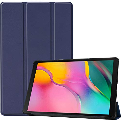 ProCase Galaxy Tab A 10.1 2019 T510 T515 Case, Slim Light Cover Stand Hard Shell Folio Case for 10.1 Inch Galaxy Tab A Tablet SM-T510 SM-T515 2019 Release -Navy (Best Light Stand 2019)