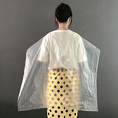 Amazon.com: PLAFUETO 200 piezas desechables de corte de pelo ...