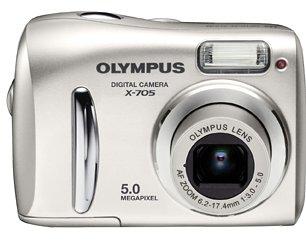 Olympus X-705 Digital Camera: Amazon.co.uk: Camera & Photo