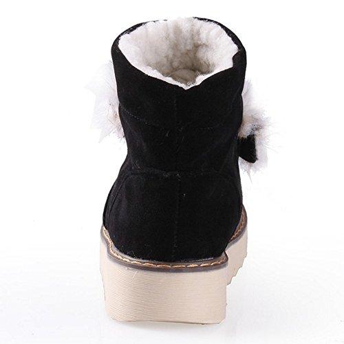 Gli Stivali Caldi Delle Donne Di Taoffen Scivolano Sul Nero