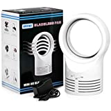 Startview New Fashion Portable Air Conditioner Table Mini Bladeless Fan With Adapte,Protect Your Child From Harm