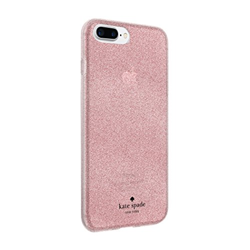 kate spade new york Flexible Glitter Case for iPhone 8 Plus - also compatible with iPhone 7 Plus, iPhone 6+/6s+ - Rose Gold Glitter by Incipio (Image #3)