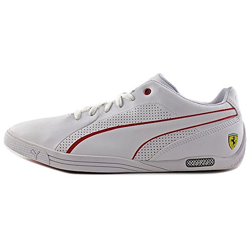 Puma Ferrari Utvalg Nm 2 Herresko Puma Hvit-hvit-røde Racing