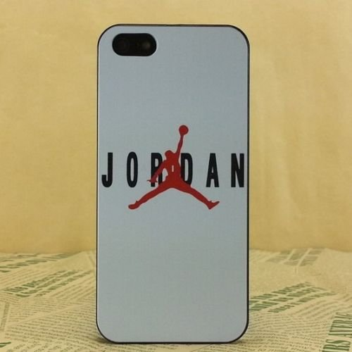 NEW AIR JORDAN BLACK LOGO JUMP SOFT PC CASE FOR APPLE IPHONE 5/5S J9