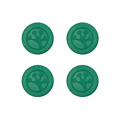 Grip-iT Analog Stick Thumb Grips for PlayStation and Xbox, 4 Pack, Green