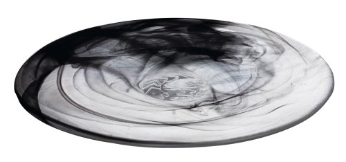 Kosta Boda Mine Dish, Black (Plates Glass Boda Kosta)
