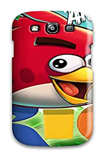 Durable Protector Case Cover With Angry Birds Rio Hot Design For Galaxy S3