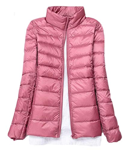 Winter Down Quilted Parka Jacket Women's Jacket Puffer Collar Stand 1 Packable TTYLLMAO XwFxZIqx