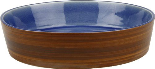 Waechtersbach Pure Nature Blue Soup Plates, Set of 4