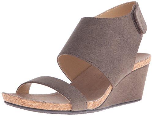 Wedge ADRIENNE Womens transe Sandal Toast ADRIENNE VITTADINI Footwear VITTADINI 6FYggq