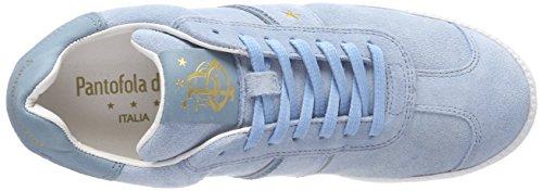 Zapatillas Suede Pantofola Barletta Blue Azul Low D'oro Light Donne para Mujer qwE4XRO